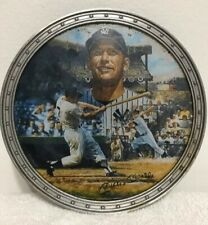 "Mickey Mantle ""Bronx Bomber"" Collector's Plate #5800A"