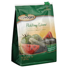 Mrs. Wages Pickling Lime 1-Pound Resealable Bag