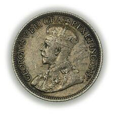 Canada KM#23a 1921 10 Cents, Small, Nice Coin, George V [3664.07]