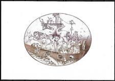 Unikat Exlibris von Olaf Gropp aus Erfurt für Hildegard Pungs Arche Noah