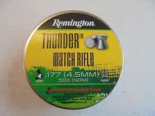 remington thunder match rifle 4.5mm / .177 x 500 pellets