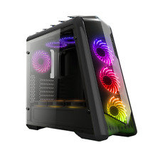 CASE GAMING ATX PER PC CTESPORTS DRACO USB 3.0 NERO PENNELLO LATERIALE IN VETRO