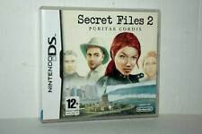 SECRET FILES 2 PURITAS CORDIS USATO NINTENDO DS EDIZIONE ITALIANA PAL FR1 42528