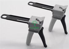 2pcs Ratio 50ml Dental Impression Mixing Dispensing Dispenser Gun 41 New