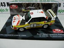 RMIT5H 1/43 IXO Rallye Monte Carlo : AUDI Sport QUATTRO rallye 1985 Röhrl