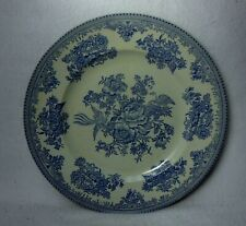 """BURGESS & LEIGH England ASIATIC PHEASANTS Blue Dinner Plate - 10"""" 1st Quality"""