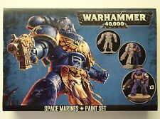 Warhammer 40000 - (Boite ouverte) - Space Marine + Paint Set