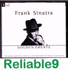 Frank Sinatra - Golden greats 3CD Boxset 67 tracks Brand new not sealed-2001 EU