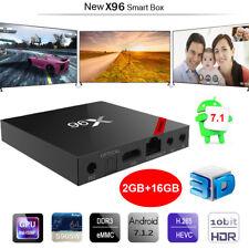 X96 2GB+16GB Android 7.1.2 TV Box Amlogic S905W Quad Core HDR10 HD WiFi Mini PC