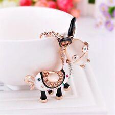 Lovely Cartoon Animal Donkey Shaped Key Chains Children's Gifts Pendant Ornament