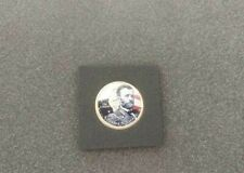 Generals Ulysses S. Grant and Robert E. Lee Painted U.S. Coin