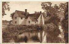 Suffolk Postcard - Willie Lott's Cottage - Flatford   V2081