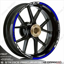 Trims Stickers Sport Wheel Wheel Honda VFR 800 x Crossrunner White Blue