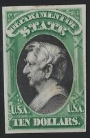 US Stamps - Scott # O70P4 - Department of State - Plate Proof on Card    (C-174)