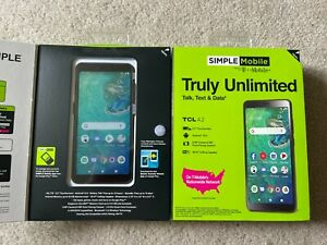 Lot of 25 TCL A2 with 32GB  & 2TCL1  Simple Mobile Prepaid Smart Phones