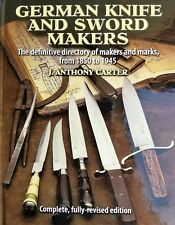 German Knife and Sword makers Book knives sword out of print Antique