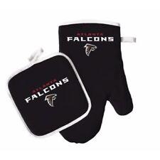 Atlanta Falcons Oven Mitt & Pot Holder Set Tailgate Barbecue Tailgating NFL
