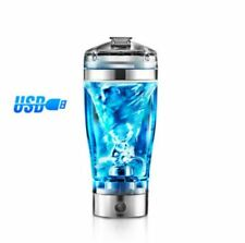 USB Protein Shaker Bottle Nutrition Mixer Electric Blender Fitness Rechargeable