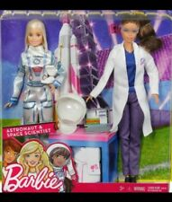 Barbie Careers Space Exploration Astronaut And Space Scientist Doll 2-Pack