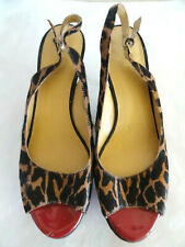 Nine West Cow Leather Upper Shoes Size 9M
