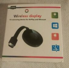 WiFi Display Dongle HDMI TV Mirroring Devise  for Airplay and Miracast, 1080p