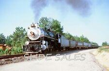 Orig. Slide Southern 4501 Steam Special on 8-77