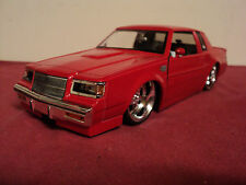 Jada 1987 Buick Grand National 1:24 Scale new no box 2003 release red exterior