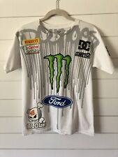 DC Shoes X Ken Block Men's #43 Racing T-Shirt Monster Ford Size Small (E2)