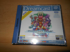 Phantasy Star online for Sega Dreamcast Factory