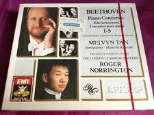 Sealed 3 CD Set : Beethoven ~ Melvyn Tan ~ Roger Norrington ~ Piano Concertos