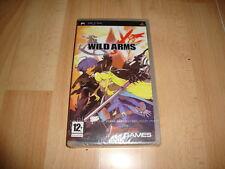 Wild Arms XF Sony PSP PAL España precintado