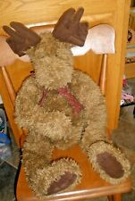 """Boyds Bear Qvc Members Only Miller C Mooselhuggs 30"""" Jointed Plush 2016/2604"""