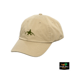 NEW RIG'EM RIGHT WATERFOWL KHAKI DAD HAT WITH LOGO ADJUSTABLE BALL CAP