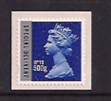 2010 GB QEII ROYAL MAIL SPECIAL DELIVERY UP TO 500G SA STAMP U2986-1 MA10 MNH