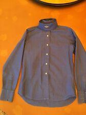 Marigold 100% Cotton French Blue With 1 Button Collar kids sz 10 - Gorgeous
