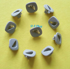 CAR ROOF INSULATION CARD BUCKLE FASTENER PLASTIC CLIPS x 10 (1485)