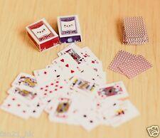 Re-ment Dollhouse Miniature Games Poker for blythe Barbie set   ( B )