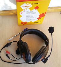 Auriculares multimedia grandes con micro y control de volumen - Jack 3,5 mm