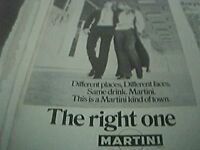 1970 advert - martini the right one