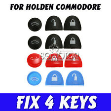 4 Sets Blue/Black/Red Key Buttons Repair Holden Commodore VS VT VX VY VZ WH