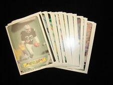 Complete Set of 33 1983 Topps Football Stickers