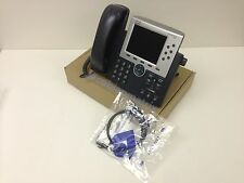 Cisco CP-7965G VOIP Phone + Phone CAT 6 cable + Warranty * Quantity Available*