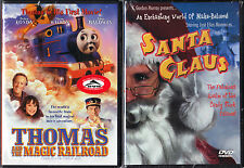 Thomas and the Magic Railroad (DVD) & Santa Claus (DVD) - 2 Children & Family