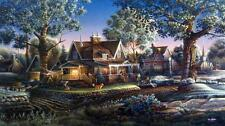 "Terry Redlin ""His First Graduation"" Signed and Numbered Print 32"" x18.5"""