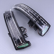 Pair Mirror Turn Signal Light LED Fit For Mercedes Benz W204 W212 W221 S400