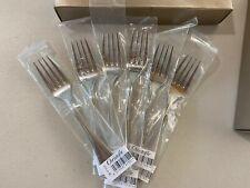 BRAND NEW Christofle Albi Acier Salad Fork (SET OF 6)