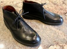 Eddie Bauer Size 11 M Black Leather Casual Chukka Boots Shoes Lk Nw