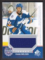 2014-15 SP Game Used Stadium Series Jersey #SS-FN Frans Nielsen NY Islanders
