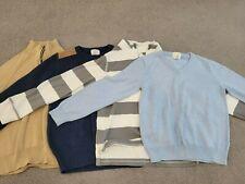 Lot of 4 J Crew Crewcut Boys Sweaters Size 10