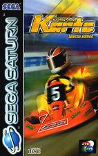 ## Formula Karts Special Edition (mit OVP) - SEGA SATURN Spiel - TOP ##